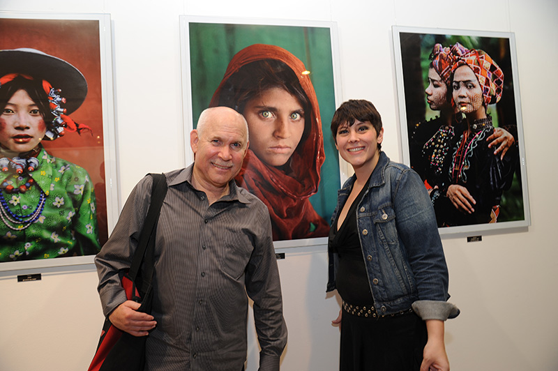 Steve McCurry Photo Exhibition Grand Opening