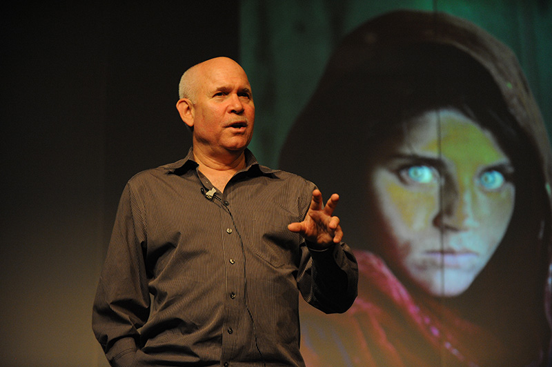 Lecture of Famous American Photographer Steve McCurry