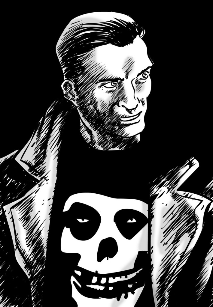 punisher b&w res